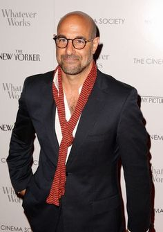 Stanley Tucci always seems like a class act. Really like his style. If I had a nicely-shaped head, I'd shave it too. Fashion For Men Over 60, Stylish Men, Men Casual, Bald Men Style, Bald Look, Stanley Tucci, Sharp Dressed Man, Perfect Man, Timeless Fashion