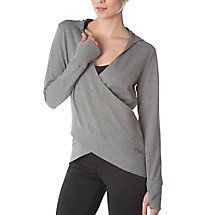 SLOUCHY WRAP FRONT HOODY buy now for $55.00 @ idealzshopping.com / fila