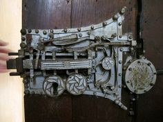 A door lock built in the 16th Century in Romania.  I would sit and play with this thing all day
