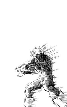 Wallpaper Dbz, Memes Dbz, Gorillaz, Dragon Ball Z, Dbz Gohan, Cool Drawings, Dbz Drawings, Ball Drawing, Akira