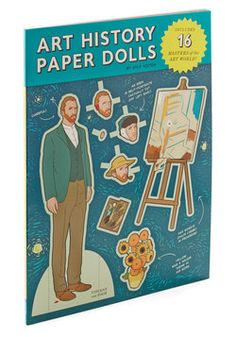 Young at Art Paper Doll Set