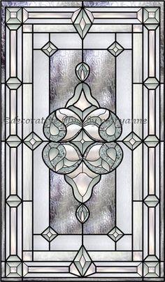 Vinyl Stained Glass Window FilmDecorative Glass FilmCustomerised