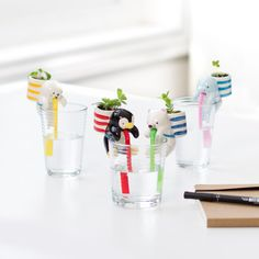 Chuppon Drinking Sea Friends Planters - Suck it up