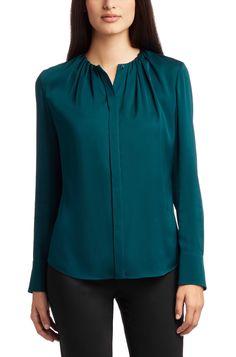 BOSS Silk blouse 'Banora2'