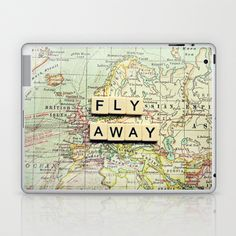 fly away Laptop & iPad Skin by Sylvia Cook Photography - $25.00