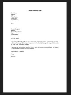 Professional Resignation Letter Appointment Letter Sample Download Free Business Infographic Writing .