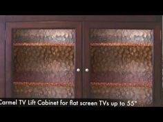 bungalow tv lift cabinet video by touchstone home products touchstone tv lift cabinets pinterest bungalow and products
