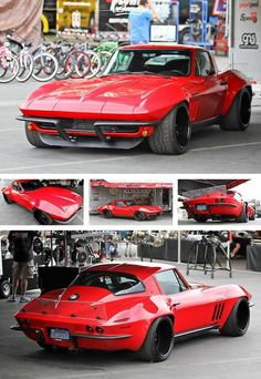 Pro-Touring Vette.....the only thing that could better is a `63 split window.