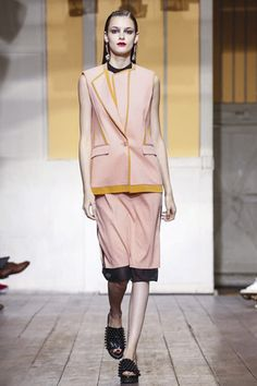 Cedric Charlier Ready To Wear Spring Summer 2015 Paris