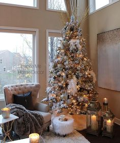 My tree is up! I had so much fun styling this shot and capturing it with my camera! For a video of this tree, check out my page @farahmerhi_