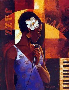 Tutt'Art@   Pittura * Scultura * Poesia * Musica  : Keith Mallett 1948   American painter   African American art