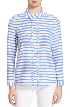 kate spade new york stripe shirt available at #Nordstrom