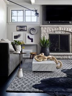 Inside a bold, edgy and glam Illinois home!