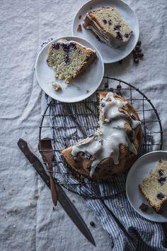 BLUEBERRY, BUTTERMILK, & ROSEMARY BROWN BUTTER CAKE