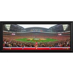 Arsenal F.C. Framed Panoramic Print F.A. Cup Winners