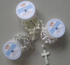 Tarjetas de recuerdo de bautizo con foto del niño - Imagui