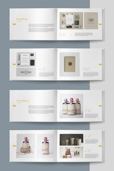 Graphic Design Portfolio Brochure Template InDesign - 40 pages Mise En Page Portfolio, Graphic Portfolio, Printed Portfolio, Portfolio Book, Portfolio Layout, Portfolio Design, Graphic Design Books, Graphic Design Templates, Ux Design