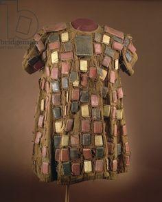 Asante 'Batakari' smock with protective talismans, from Ghana (textile)