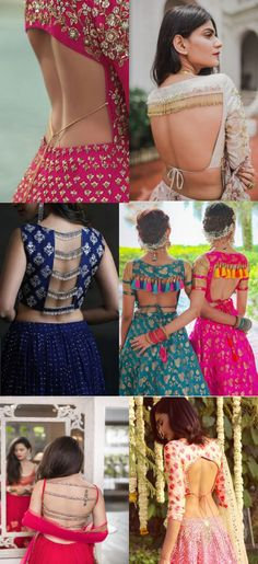 Some really hot blouse backs for brides to choose from!  Book your wedding now with BookEventZ  #blousebacks #blousepatterns #prettyblouses #hotblouses #amazingblousepatterns #hotblousepatterns #differentblouseback #differentblousepatterns #wedding #marriage #bookeventz Job Description, Product Description, Blouse Patterns, Blouse Styles, Carpenter, Traditional Dresses, Blouse Neck, Sari Blouse, Choli Designs