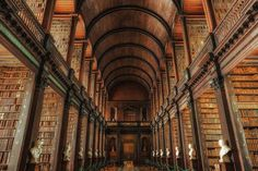 Trinity College Long Room, Dublin