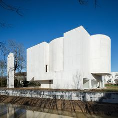 New Church of Saint-Jacques by Alvaro Siza