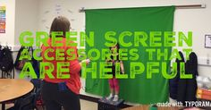 Great blog post from Traci Piltz on how she is using Green Screen by Do Ink. Including a great section on all the important green screen accessories.