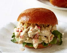 "Can't wait to try this recipe ""Crab Salad Sandwich with Old Bay Dressing"" by Giada De Laurentiis from Giada's digital weekly! @GDeLaurentiis"