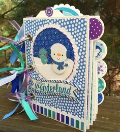 Doodlebug Winter Mini Album Kit or Pre-made Scrapbook by ArtsyAlbums available now! Visit www.artsyalbums.etsy.com to purchase.