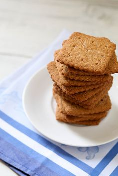 DIY Graham Crackers by annieseats