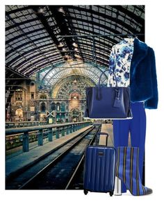 """""""Waiting for the Train"""" by thefashionistacook ❤ liked on Polyvore featuring 3.1 Phillip Lim, Tory Burch, Dries Van Noten, Marco de Vincenzo, Longchamp and Tumi"""