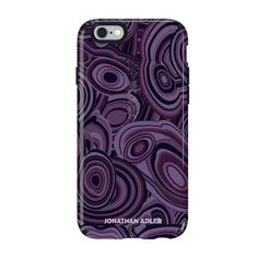 Speck iPhone 6/6s Plus CandyShell Inked Johnathan Adler Case - Malachite Purple