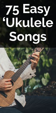 How to play 75 simple beginner songs on your uke. A great starting place for finding fun tunes once your know a handful of chords. Easy Ukulele Songs, Cool Ukulele, Ukulele Chords, Guitar Tabs, Music Theater, Theatre, Ukulele Fingerpicking, Reggae Style, Beatles Songs