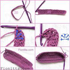 Tutorial #65: Bolso tejido a Crochet | CTejidas [Crochet y Dos Agujas]