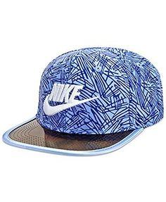 low priced 20f02 26e17 Nike Boys  True Printed Adjustable Hat (4 7, Chalk Blue (.