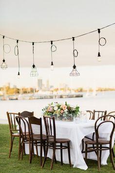 Contemporary Yacht Club Wedding in Perth - Wedding Tables & Table Decor - - Yacht Wedding Ideas - Contemporary Wedding Theme, Contemporary Decor, Beach Wedding Decorations, Reception Decorations, Wedding Reception Timeline, Wedding Receptions, Wedding Tags, Wedding Ideas, Wedding Details