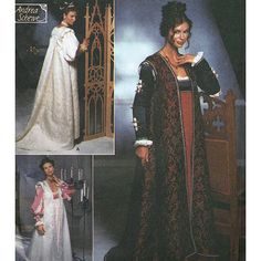 Simplicity 9533 Renaissance Costume Collection by PatternWalk, $18.50