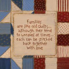 Family Quilts Kunstdrucke von Karen Tribett - AllPosters.at