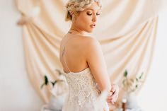 Modern and Eclectic Wedding Inspiration Photo Shoot from Loren and Chris Photography