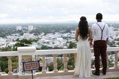 Enchanted Puerto Rico elopement in a castle