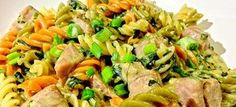 τονοσαλατα με ζυμαρικα Snack Recipes, Snacks, Kung Pao Chicken, Finger Foods, Pasta Salad, Salads, Sweets, Meat, Ethnic Recipes