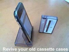 Good idea for a mobile phone stand