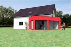 abt construction bois vous propose ce modle de maison ossature bois de 12900m habitable - Maison Ossature Bois Avantage Inconvenient
