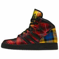 online retailer 37d4d 13c25 adidas Jeremy Scott Instinct Hi Shoes Adidas Hombre, Zapatillas Adidas, Jeremy  Scott, Armario