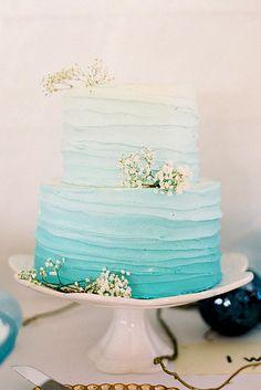 ombre wedding cakes 2