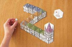 Rocca Town /カードゲーム[Rocca Spiele(ロッカ・シュピール)] - gg : ジジのウェブ