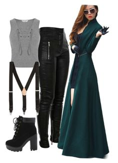"""""""Untitled #575"""" by ironraven281 ❤ liked on Polyvore featuring Miss Selfridge and Topman"""