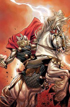 Thor - Olivier Coipel Marvel Characters, Marvel Heroes, Marvel Comics, Latest Movie Trailers, Man Vs, Best Cosplay, Hulk, Marvel Universe, Thor
