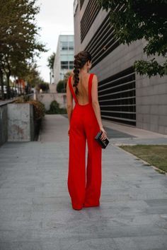 Look inivitada : sexy jumpsuit Night Outfits, Classy Outfits, Cool Outfits, Fashion Outfits, Bachelorette Outfits, Photographer Outfit, Fiesta Outfit, Sexy Long Dress, Look Formal
