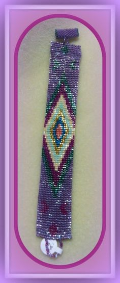 Beautiful purple Loom Bracelet