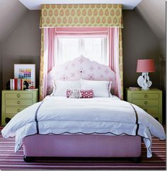 Katie Ridder via Cote de Texas. Seen this before other places, but one of my favorite little girl rooms ever.